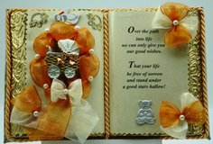 Baby Shower - Handmade books for any event Nr. 00010 in Grafenwoehr, GE