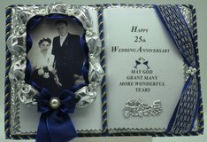 25. Wedding Anniversary - Handmade books for any event Nr. 00013 in Grafenwoehr, GE