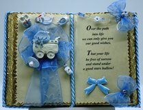 Baby Shower - Handmade books for any event Nr. 00009 in Grafenwoehr, GE