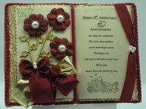 20. Wedding Anniversary - Handmade books for any event Nr. 00007 in Grafenwoehr, GE