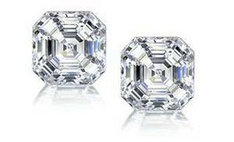 **BRAND NEW***BEAUTIFUL 3.00 CTTW Asscher-Cut Cubic Zirconia Stud Earrings in Sterlin... in The Woodlands, Texas