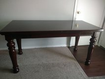 Mahogany stain sold wood desk in Montgomery, Alabama