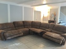 REDUCED! 6 Piece Sectional Couch Sofa Plus Recliner in Kingwood, Texas