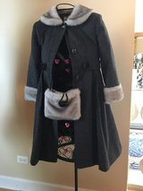 Girls designer coats sizes 6-10 (Justice brand and more in Naperville, Illinois
