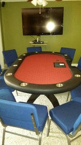 POKER TABLE 10 PERSON in bookoo, US