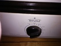 Rival Electric Oven Roaster 18 Quart With Removable Lid.  $40.00 in Todd County, Kentucky