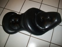 Clean Drag Specialties dual wide pillow seat. Fits 1979 Harley FLH & others in Bartlett, Illinois