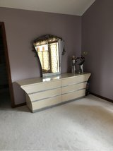 custom contemporary bedroom set dresser and mirror in Algonquin, Illinois