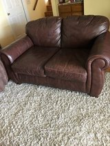 Love sofa (leather) in Temecula, California