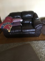 Leather sofa in Temecula, California