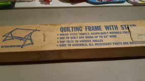 Quilting Frame with Stand in Yorkville, Illinois