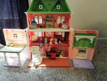 Fisher Price Loving Family Grand Mansion Doll House with Assorted Furniture Lot in Richmond, Virginia