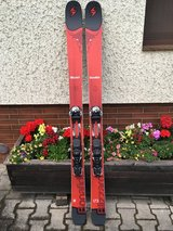Blizzard Bonafide Skis, size 173. Includes climbing skins and bindings!! in Ramstein, Germany