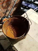 cast iron pot with strainer in Hinesville, Georgia