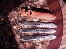 Throwing Knives in Fort Carson, Colorado