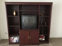 Tv stand and book shelf in Roseville, California