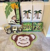 9-Piece Monkey Bathroom Set in Yorkville, Illinois
