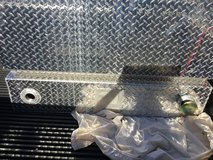 NEW 85 gal Combo Aluminum Transfer Tank Toolbox/fuel in Yucca Valley, California