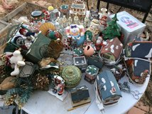 Ceramic Xmas collectibles in 29 Palms, California