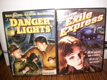 Two DVDs of Movies about Trains from the 1930s in Joliet, Illinois