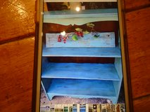 small Teal shabby chic bookcase in Westmont, Illinois