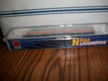 Life-Like Trains N Scale Item 7038  E7 LOCO Factory Painted as Milw Road # 18A in Joliet, Illinois