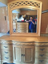 3 PIECE RIVERS EDGE BEDROOM DRESSERS WITH MIRROR in Palatine, Illinois