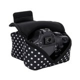 Brand New ! DSLR Camera Sleeve / Camera Case Holster - DOTS - with DuraNeoprene Technology and A... in Ramstein, Germany