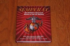SEMPER FI: DEFINITIVE ILLUSTRATED HISTORY OF THE U.S. MARINES 2005 HC/ in Houston, Texas