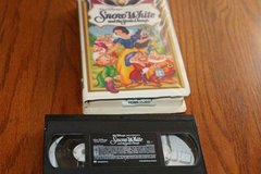 Snow White and the Seven Dwarfs VHS in Houston, Texas