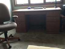 Desk and chair in Elgin, Illinois