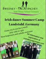 Irish Dance Summer Camp in Ramstein, Germany