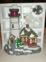 Dept. 56 - Christmas Cove Lighthouse in Glendale Heights, Illinois