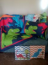 Dinosaur Toddler bed set with pictures in Fort Campbell, Kentucky