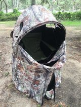 deer/turkey chair ground blind in Beaufort, South Carolina