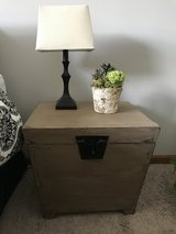 Chic night stand/storage box in Plainfield, Illinois