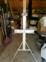 Easel in Cannon AFB, New Mexico