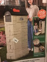 Still in the box!  Step 2 Brand Plastic Mailbox with storage compartment in Naperville, Illinois