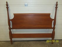 Antique Solid Maple Headboard in Alamogordo, New Mexico