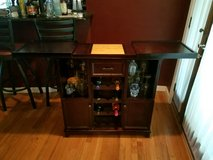 Bar and wine rack combo in Belleville, Illinois