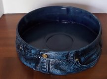 Blue Jean Centerpiece / Chip Bowl in Kingwood, Texas