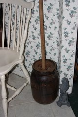 Antique butter churn in Tomball, Texas