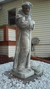St. Francis of Assisi Garden Statue in Algonquin, Illinois