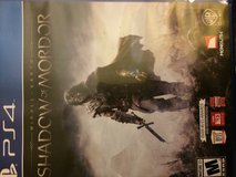 Shadow of Mordor (PS4) LIKE NEW in Oswego, Illinois