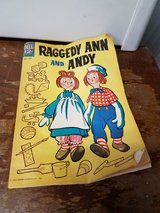 Vintage Raggedy Ann and Andy magazine in Travis AFB, California
