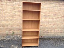 Tall bookshelf in Lakenheath, UK