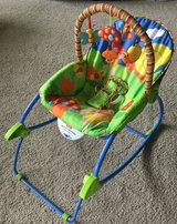 Fisher price infant to toddler rocker in Sugar Grove, Illinois
