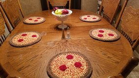 Crocheted Pizza Placemats (6) in Warner Robins, Georgia