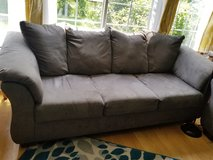 Microfiber couch and loveseat in Algonquin, Illinois