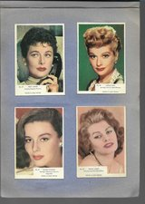 RARE 1955 & 1956 FILM STARS CARDS INCLUDING MARILYN MONROE & JOHN WAYNE in Ramstein, Germany